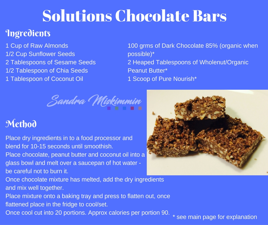 Solutions Chocolate Bars