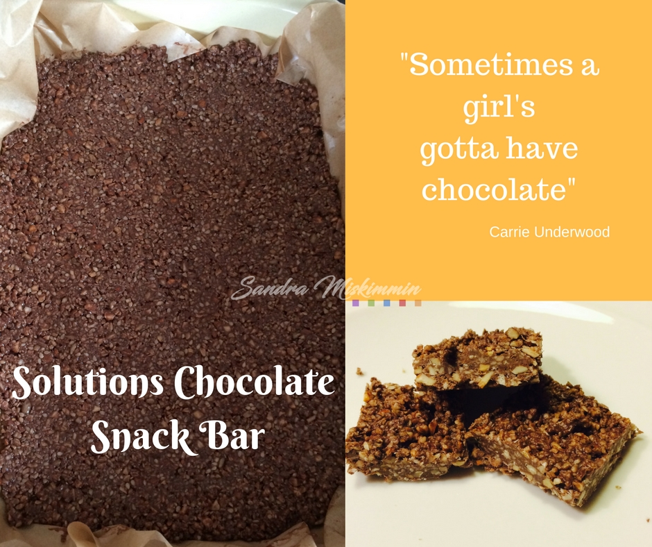 """""""Sometimes a girl's gotta have chocolate"""""""