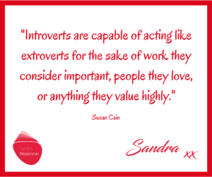 An Introvert can perform