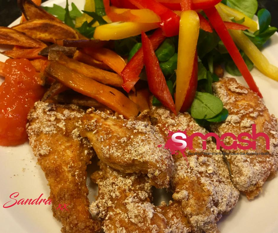 Homemade Chicken Goujons Sandra Miskimmin